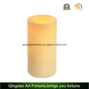 Flameless LED Wax Candle with Remote Control Timer for Hotel Decor pictures & photos