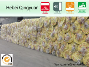 Heat Insulation Glasswool Blanket for Building Material