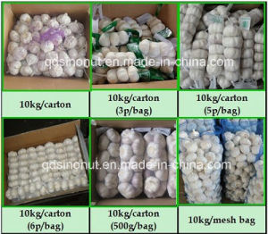 New Crop Normal White Garlic (5.5cm&up-- 1kg/bag) pictures & photos
