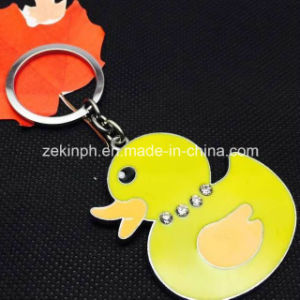 Customized Cute Duck Keychain for Promotion pictures & photos