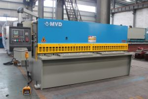 Mvd German Inverter QC12y-8X4000 CNC Hydraulic Shearing Machine pictures & photos