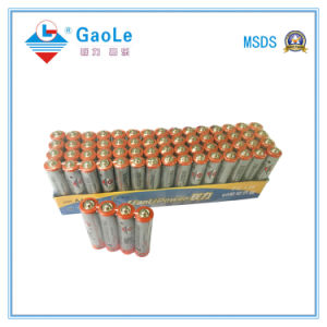 AAA 1.5V R03 Carbon Zinc Battery in Paper Tay pictures & photos