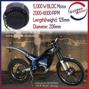 5000W Electric Motorbike Air Cooling Bldcm Motor pictures & photos