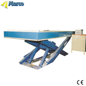 2 Ton Marco Single Scissor Lift Table with CE Approved pictures & photos