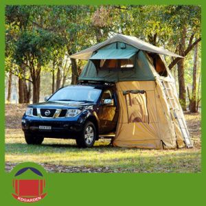 Outdoor Canvas Camping Roof Top Tent for Hiking pictures & photos