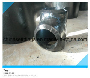 High Pressure Carbon Steel Seamless Equal Tee pictures & photos