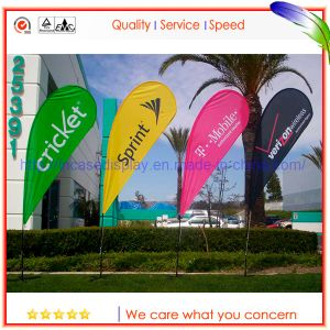 Advertising Banners Custom Display Flying Banners with Unique Features Knife Shape Banner