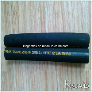 High Pressure Steel Wire Spiral Rubber Hydraulic Hose (SAE100 R9) pictures & photos