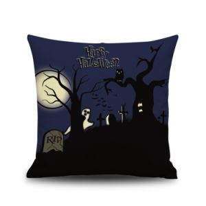Hollween Holidy Designed Printing Throw Cushion pictures & photos