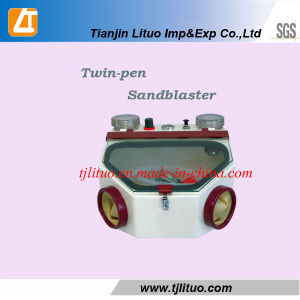 Twin-Pen Sandblaster for Dental Equipmen pictures & photos