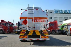 Sinotruk HOWO T5g 6X4 Aluminum Fuel Tanker Truck pictures & photos