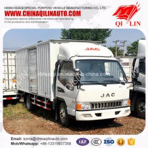 Double-Axle China Mini Van Truck with Side Door pictures & photos