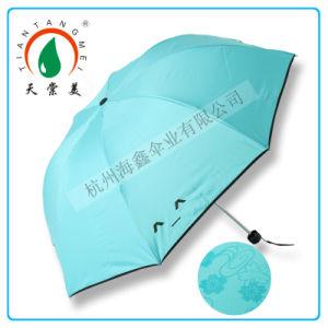 "21""X8k 3 Fold Manual Open Water Magic Color Change Umbrella"