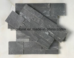 China Local Sesame Yellow Quartz Ledge Stone pictures & photos
