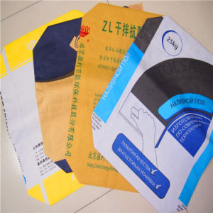 High Quality 50kg PP Valve Cement Bag pictures & photos