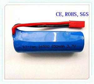 Li-ion Rechargeable Battery Pack 16500-850mAh, 3.7V for Audio, Lithion Battery Pack, Li-ion Battery