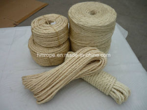 Sisal Twisted Rope, Sisal 3 Strands Twisted Twine pictures & photos