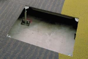 Raised Floor with Carpet (HDG)