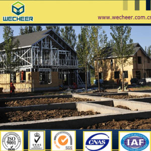 Prefabricated House, Light Steel Structure, Anti-Seismic House Eco Villa pictures & photos