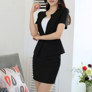 Ladies Blazer Designs Skirt Suit, Blazer Women Slim Fit Suit pictures & photos