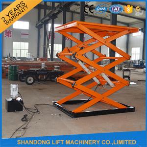 Ce Hydraulic Cargo Scissor Lifter Elevator pictures & photos