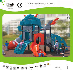 Kaiqi Small Cool Robot Themed Children′s Playground (KQ30127B) pictures & photos
