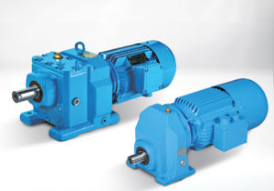R Series Helical Gearbox R17-R167