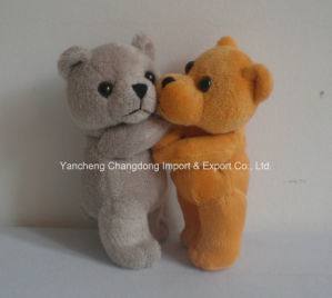 2 Asst Plush Small Serious Teddy Bear with Soft Material pictures & photos