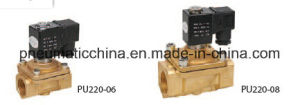 PU220 Series Solenoid Valves, Brass Valve pictures & photos