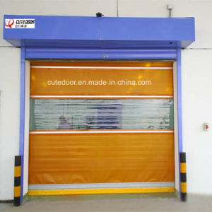 High Performance Industrial High Speed Roll up Shutter Door pictures & photos