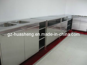 Metal Cabinet for Kitchen (HS-025) pictures & photos