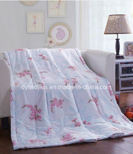 Hot Sale Polyester Printed Square Bedding Set pictures & photos