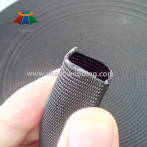 1 Inch Black Tubular Flat Nylon Webbing pictures & photos