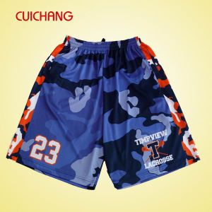 Professional Sublimated Custom Lacrosse Shorts pictures & photos
