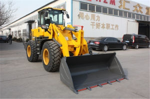 Russia Priced Hzm Construction 3 Ton Wheel Loader with 92kw Engine pictures & photos