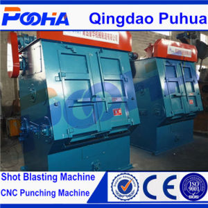 Rubber Belt Tumble Shot Blasting Machine for Surface Cleaning pictures & photos