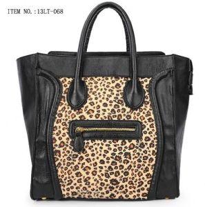 Hot Sale Leopard Leather Fashion Brand Designer Women Handbags pictures & photos