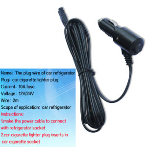 12V/24V Car Cigarette Plug with DC Cable and on/off Switch pictures & photos