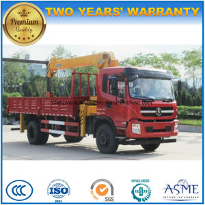 Shacman Lorry Truck 6t Straight Arm Crane Truck pictures & photos