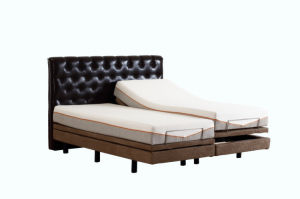Modern Design Bedroom Furniture Upholstered Latest Double Electric Bed Adjusatble Bed pictures & photos