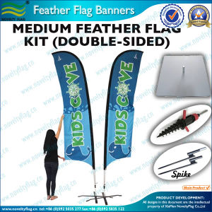 Double Sided Feather Flag pictures & photos