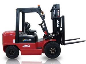 Diesel Forklift (3.5T FORKLIFT) , China Famous JAC Brand New Forklift pictures & photos
