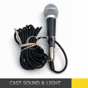 Popular Karaoke Wired Dynamic Microphone pictures & photos