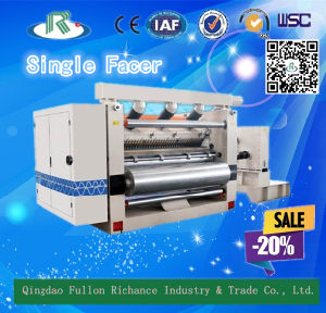 Inner Vacuum Suction Type Corrugated Single Facer Machine pictures & photos