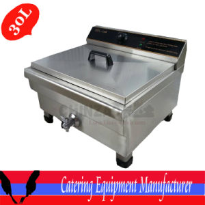 30L Single Tank Countertop Deep Fryer (DZL-026B) pictures & photos