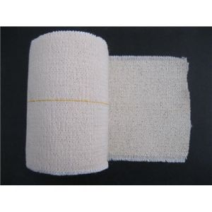 Skin White Color High Cotton Elastic Bandage (Bleached) pictures & photos