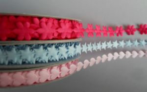 Flower Ribbon, Press Ribbon, Emboss Ribbon, Ultrasonic Ribbon