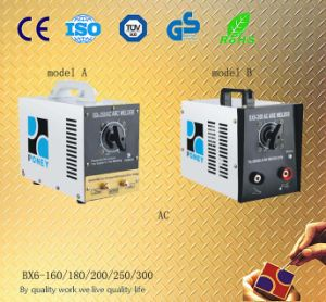 Stainless AC Arc Welding Machine (BX6-160/180/200/250/300) pictures & photos