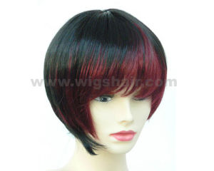 Short T Color Synthetic Wigs pictures & photos