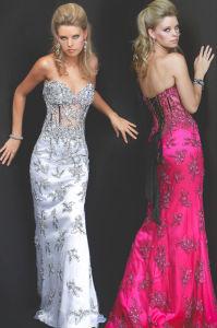Fashion Evening Dress (FYH-EV7112)